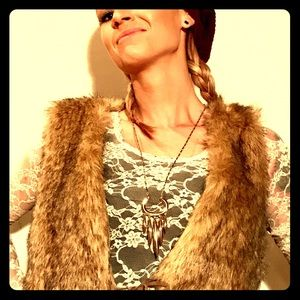 Boho Art Deco necklace